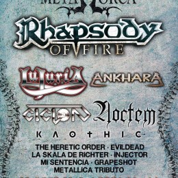 Confirmado, «Metallica Tributo» en el «Metal Lorca»!!