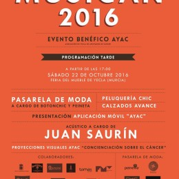 Ya está publicado el cartel del Evento Benéfico de AYAC!!
