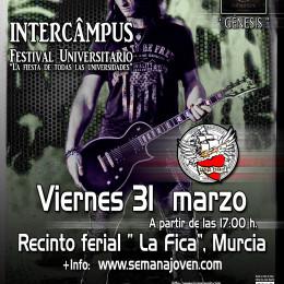 Nueva fecha en el Macro-Festival Universitario de Murcia!!