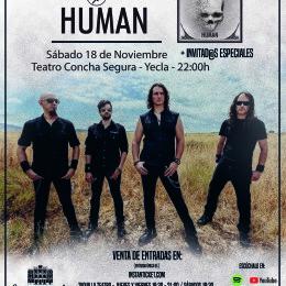 """Crónica de la presentación de Human en Yecla por """"Dioses del Metal""""!!"""