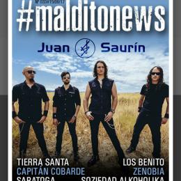 Portada de las Maldito News de Maldito Records!!