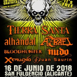 ESTAREMOS EN EL ROCK ARENA 2018!!!