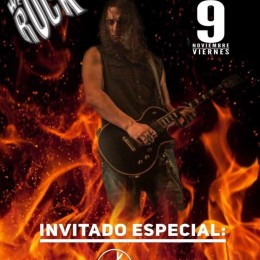 INVITADO ESPECIAL EN LA INAUGURACIÓN DE LA SALA WE ROCK MADRID!!
