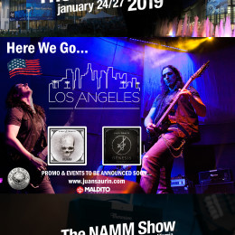 HERE WE GO…LOS ÁNGELES (USA)!!! NAMM 2019
