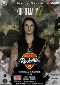 Poster_Supremacy Rockville Madrid