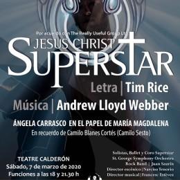 GUITARRA SOLISTA Y DIRECTOR ROCK BAND EN EL HOMENAJE A CAMILO SESTO EN ALCOY – «JESUCRISTO SUPERSTAR»
