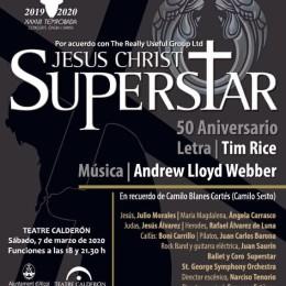 «JESUCRISTO SUPERSTAR» – SOLD OUT SESIÓN 18:00!!!