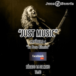 MAÑANA, EN FACEBOOK LIVE, «JUST MUSIC» CAP.4!!