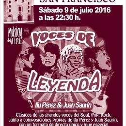 """Nuevo espectáculo """"Voces de Leyenda"""" con Ilu Pérez!!"""