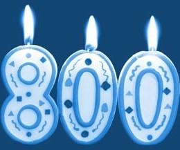 Ya somos más de 800 en la página de Facebook!!