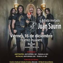 """Fantástica crónica del concierto en Beniel (Murcia) por """"Metalcry.com""""!!"""