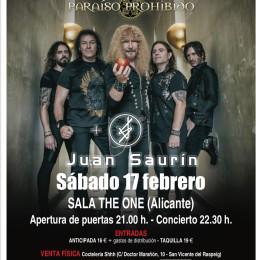 Crónica del concierto del pasado 17 de Febrero en The Sala One!!