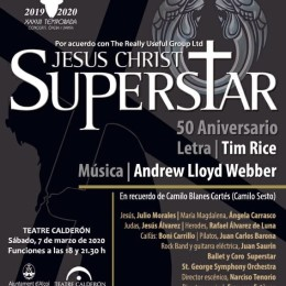 """JESUCRISTO SUPERSTAR"" – SOLD OUT SESIÓN 18:00!!!"