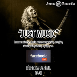FACEBOOK LIVE – JUST MUSIC