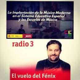 """ESTA NOCHE, ENTREVISTA EN """"EL VUELO DEL FÉNIX"""" – RADIO3"""